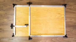 Bodenplatte mit Gerüst2